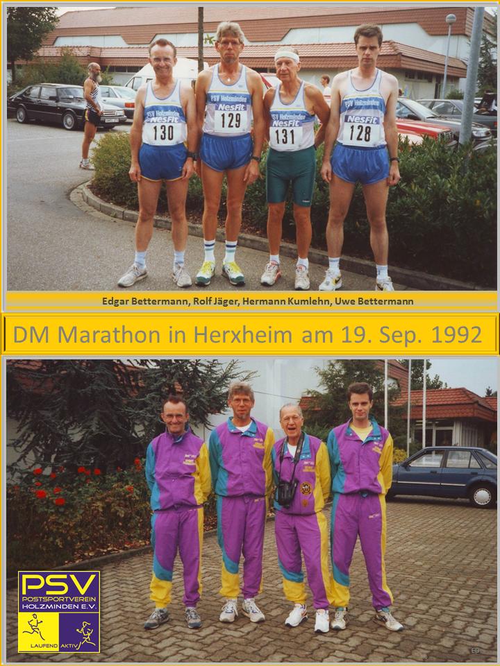 Marathonstatistik von 1991