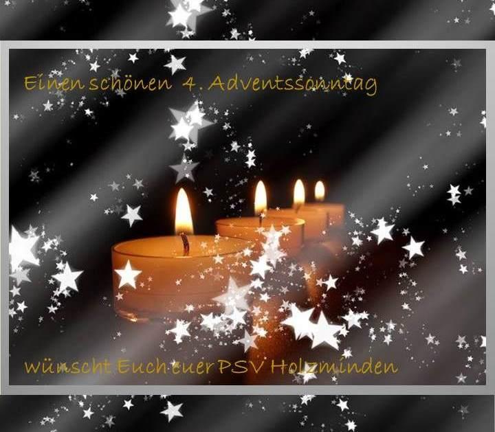 Der PSV wünscht allen eine zauberhafte Adventszeit